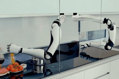 Robot cocinero Moley contruido por Moley robotics es un robot chef de cocina profesional con dos brazos robóticos que se ha convertido en uno de los mejores cocineros del mundo