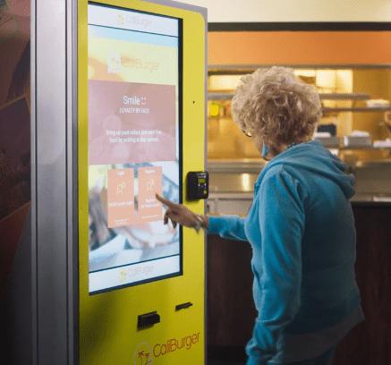 Cliburguer reconocimiento facial robot cocinero Flippi hamburguesas