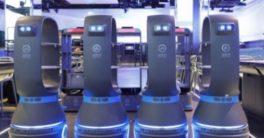 Enfermos de coronavirus aislados en un hotel y cuidados por un robot