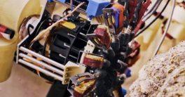 La Agencia espacial de los estados unidos ha desarrollado un Robot escalador