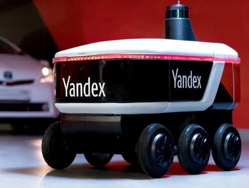El nuevo repartidor de comida o paquetería se llama Rover Yandex