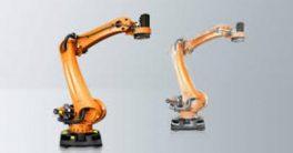 El robot KR QUANTEC que es capaz de soportar hasta 180°C